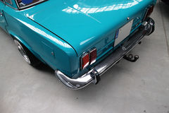 Κλασικό αυτοκίνητο στιλβωτικής ουσίας Στοκ Εικόνες
