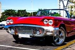 Κλασικό αυτοκίνητο Plaza de Λα Revolucion, Αβάνα, Κούβα Στοκ φωτογραφίες με δικαίωμα ελεύθερης χρήσης
