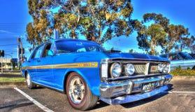 Κλασικό γεράκι της Ford της δεκαετίας του '70 αυστραλιανό Στοκ φωτογραφία με δικαίωμα ελεύθερης χρήσης