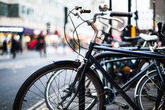 Κλασικό εκλεκτής ποιότητας ποδήλατο Στοκ εικόνες με δικαίωμα ελεύθερης χρήσης