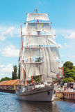 Κλασικό εκλεκτής ποιότητας sailboat Στοκ εικόνα με δικαίωμα ελεύθερης χρήσης
