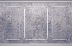 Κλασικό εσωτερικό με τα σχήματα Στοκ Εικόνες