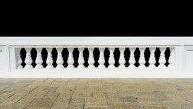 Κλασικό κιγκλίδωμα το πάτωμα που απομονώνεται με Στοκ Εικόνες