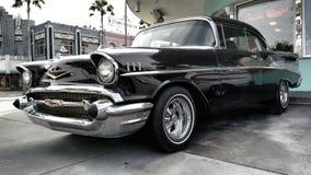 Κλασικό μαύρο αυτοκίνητο στοκ εικόνες