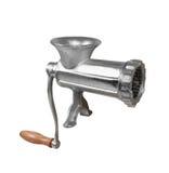 Κλασικό μηχανή κοπής κιμά Στοκ εικόνες με δικαίωμα ελεύθερης χρήσης