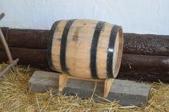 Κλασικό ξύλινο βαρέλι Στοκ φωτογραφία με δικαίωμα ελεύθερης χρήσης