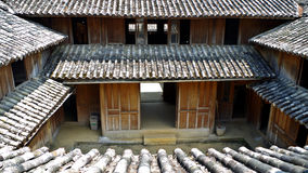 Κλασικό παλάτι Βιετνάμ βασιλιάδων Hmong σπιτιών βιετναμέζικο στοκ φωτογραφία με δικαίωμα ελεύθερης χρήσης