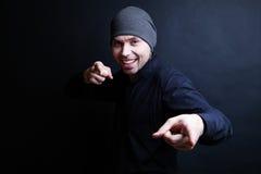 Κλασικό πορτρέτο ενός συμπαθητικού νεαρού άνδρα Στοκ εικόνα με δικαίωμα ελεύθερης χρήσης