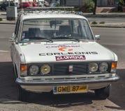 Κλασικό πολωνικό αυτοκίνητο Polski Φίατ 125p Στοκ φωτογραφία με δικαίωμα ελεύθερης χρήσης
