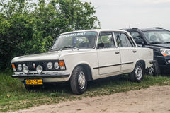 Κλασικό πολωνικό αυτοκίνητο Polski Φίατ 125p Στοκ Εικόνα