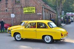 Κλασικό πολωνικό αυτοκίνητο Syrena 105 Στοκ Φωτογραφίες