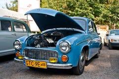 Κλασικό πολωνικό αυτοκίνητο Syrena 104 Στοκ φωτογραφίες με δικαίωμα ελεύθερης χρήσης