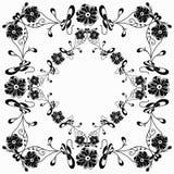 Κλασικό πλαίσιο εικόνων аlowers ταπετσαριών Στοκ εικόνα με δικαίωμα ελεύθερης χρήσης