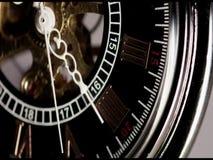 κλασικό ρολόι απόθεμα βίντεο