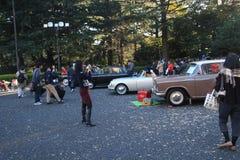 Κλασικό φεστιβάλ αυτοκινήτων του Τόκιο στην Ιαπωνία Στοκ Φωτογραφία
