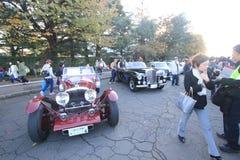 Κλασικό φεστιβάλ αυτοκινήτων του Τόκιο στην Ιαπωνία Στοκ Εικόνες