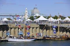 Κλασικό φεστιβάλ βαρκών του Μόντρεαλ Στοκ Φωτογραφίες