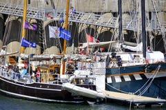 Κλασικό φεστιβάλ βαρκών του Μόντρεαλ Στοκ φωτογραφία με δικαίωμα ελεύθερης χρήσης