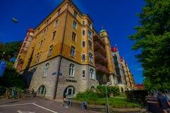 Κλασικό arquitecture στο στο κέντρο της πόλης Γκέτεμπουργκ Στοκ Εικόνες