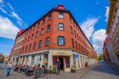 Κλασικό arquitecture στο στο κέντρο της πόλης Γκέτεμπουργκ Στοκ Φωτογραφίες