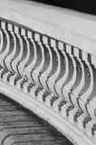 Κλασικό bannister Στοκ εικόνα με δικαίωμα ελεύθερης χρήσης