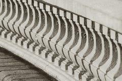 Κλασικό bannister Στοκ Εικόνες