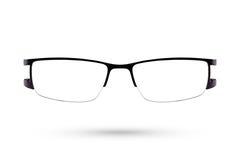 Κλασικό eyeglasses μόδας ύφος που απομονώνεται στο άσπρο υπόβαθρο Στοκ εικόνες με δικαίωμα ελεύθερης χρήσης
