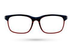 Κλασικό eyeglasses μόδας ύφος που απομονώνεται στο άσπρο υπόβαθρο Στοκ φωτογραφίες με δικαίωμα ελεύθερης χρήσης