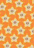 κλασικό mandala λουλουδιών δ διανυσματική απεικόνιση