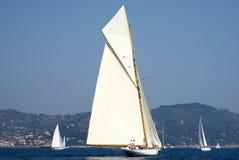 Κλασικό regatta γιοτ Στοκ φωτογραφίες με δικαίωμα ελεύθερης χρήσης