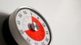 Κλασσικός εκλεκτής ποιότητας στενός επάνω χρονομέτρων αντίστροφης μέτρησης κουζινών, παραμονή 40 λεπτών Στοκ εικόνα με δικαίωμα ελεύθερης χρήσης