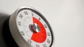 Κλασσικός εκλεκτής ποιότητας στενός επάνω χρονομέτρων αντίστροφης μέτρησης κουζινών, παραμονή 35 λεπτών Στοκ Φωτογραφίες