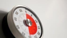 Κλασσικός εκλεκτής ποιότητας στενός επάνω χρονομέτρων αντίστροφης μέτρησης κουζινών, παραμονή 30 λεπτών Στοκ φωτογραφία με δικαίωμα ελεύθερης χρήσης