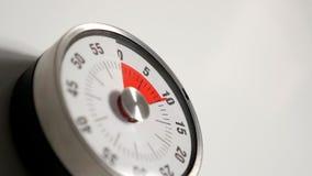 Κλασσικός εκλεκτής ποιότητας στενός επάνω χρονομέτρων αντίστροφης μέτρησης κουζινών, παραμονή 10 λεπτών Στοκ εικόνα με δικαίωμα ελεύθερης χρήσης