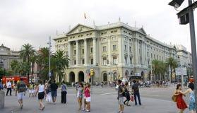Κλασσικό κτήριο στο Plaza de Colà ³ ν Στοκ εικόνες με δικαίωμα ελεύθερης χρήσης