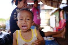 Κλαψιάρικο μωρό Στοκ Εικόνα