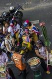Κλείσιμο της Μπανγκόκ: Στις 13 Ιανουαρίου 2014 στοκ εικόνες
