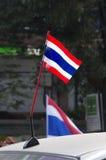 Κλείσιμο της Μπανγκόκ: Στις 13 Ιανουαρίου 2014 στοκ εικόνα