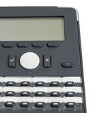 Κλείστε αυξημένος του σύγχρονου επιχειρησιακού τηλεφώνου Στοκ Φωτογραφίες
