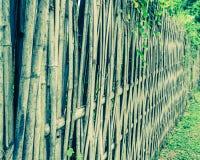 κλείστε αυξημένος του φράκτη μπαμπού στοκ φωτογραφία με δικαίωμα ελεύθερης χρήσης