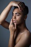 Κλείστε επάνω αισθησιακός transgender στοκ εικόνα με δικαίωμα ελεύθερης χρήσης