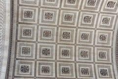 Κλείστε επάνω απαριθμεί το τόξο de Triomphe στο Παρίσι Στοκ εικόνες με δικαίωμα ελεύθερης χρήσης