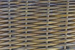 Κλείστε επάνω ενός ψάθινου καλαθιού Στοκ εικόνα με δικαίωμα ελεύθερης χρήσης