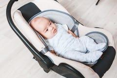 Κλείστε επάνω νέου - γεννημένο μικτό μωρό φυλών Ασιατικός και βρετανικός νέος - γεννημένο μωρό Στοκ φωτογραφία με δικαίωμα ελεύθερης χρήσης