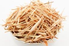 Κλείστε επάνω ξηρό lemongrass φετών Στοκ φωτογραφίες με δικαίωμα ελεύθερης χρήσης