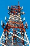 Κλείστε επάνω στον πύργο επικοινωνίας Στοκ εικόνα με δικαίωμα ελεύθερης χρήσης