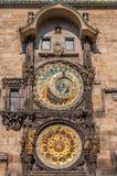 Κλείστε επάνω στο αστρονομικό ρολόι Στοκ εικόνα με δικαίωμα ελεύθερης χρήσης