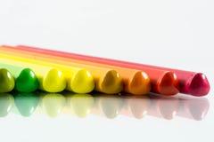 Κλείστε επάνω στο μολύβι χρώματος Στοκ φωτογραφία με δικαίωμα ελεύθερης χρήσης