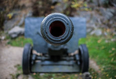 Κλείστε επάνω στο πυροβόλο Στοκ φωτογραφία με δικαίωμα ελεύθερης χρήσης