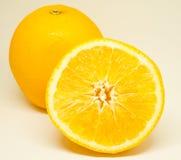 Κλείστε επάνω στο φρέσκο πορτοκάλι φετών Στοκ φωτογραφία με δικαίωμα ελεύθερης χρήσης